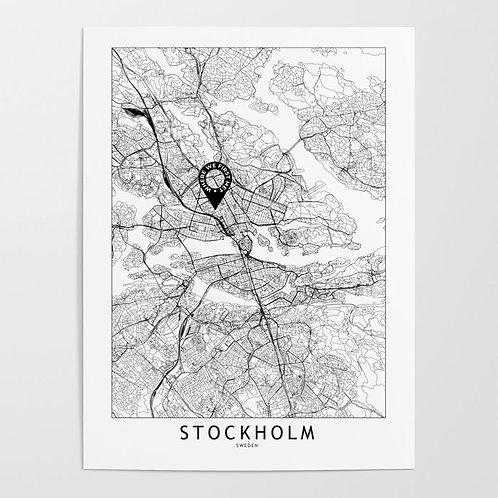 Stockholm Custom Map