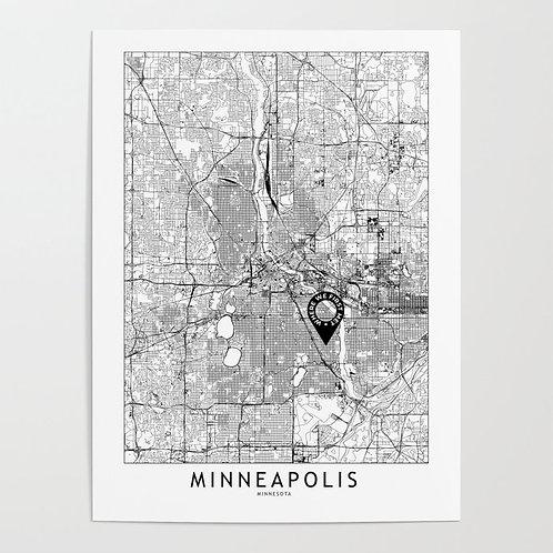 Minneapolis Custom Map