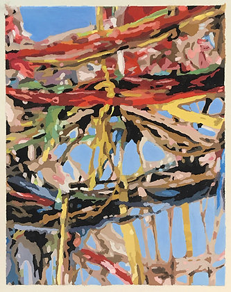 "Eric Niebuhr - ""TPC No.10 (Study)"" - Original"