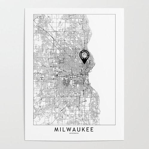 Milwaukee Custom Map