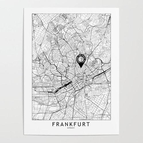 Frankfurt Custom Map