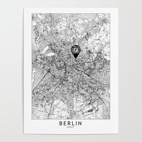 Berlin Custom Map