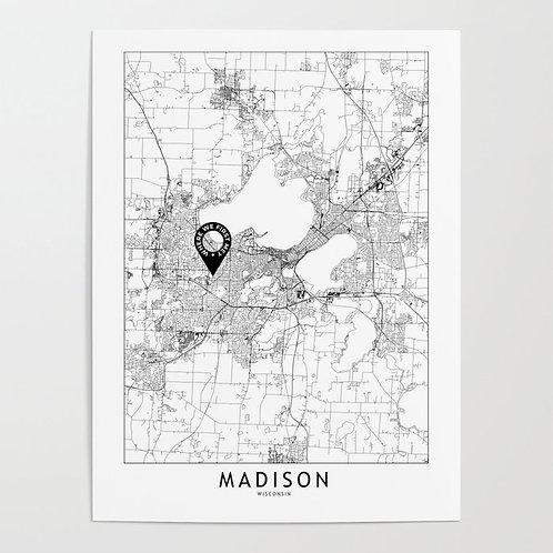 Madison Custom Map