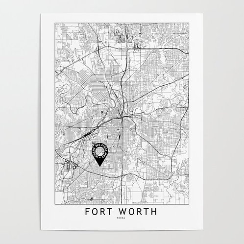 Fort Worth Custom Map