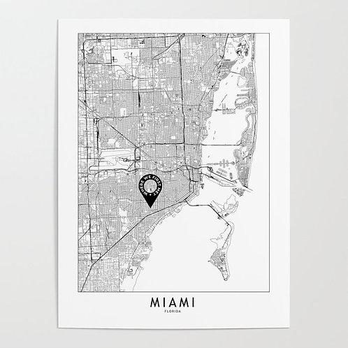 Miami Custom Map