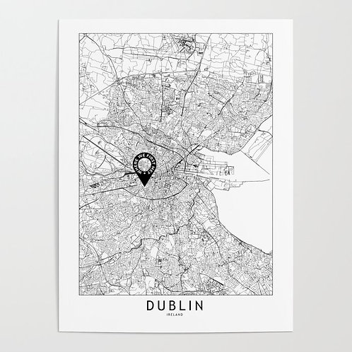 Dublin Custom Map