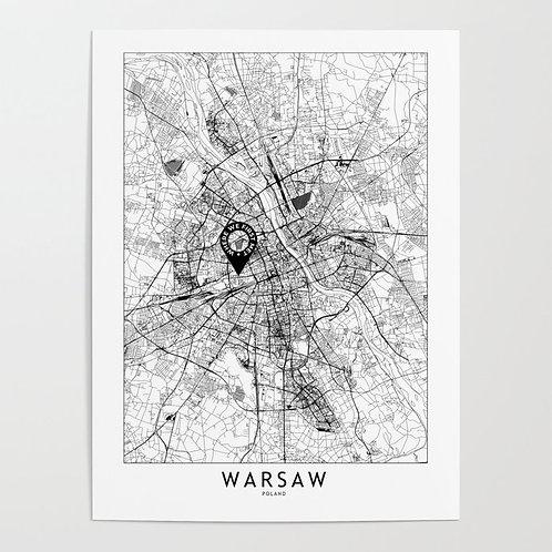 Warsaw Custom Map