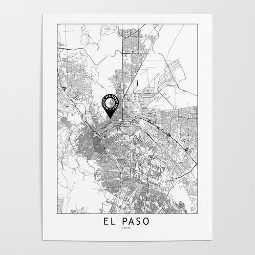El Paso Custom Map