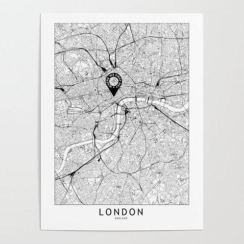 London Custom Map