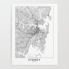 Sydney Map Poster