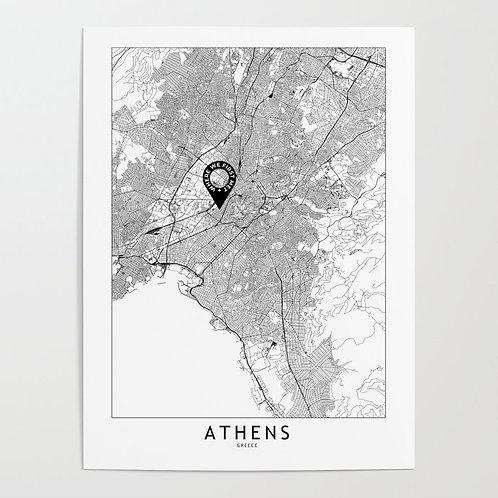 Athens Custom Map