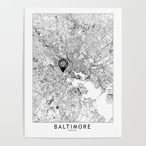 Baltimore Custom Map