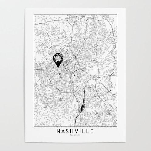 Nashville Custom Map