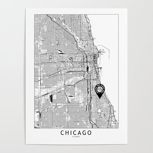 Chicago Custom Map