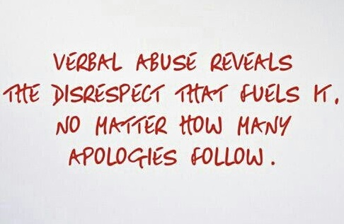 Verbal Abuse Reveals