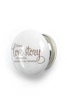 Love Story Knob