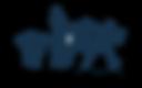 dessin sportif logo bleu marine sans fon