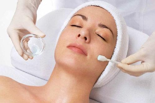 Peeling cosmético con AHAS