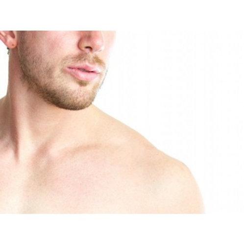 Depilación pecho y abdomen