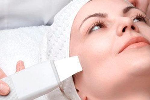 Higiene facial con ultrasonidos