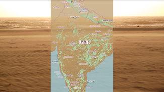 Bildschirmfoto von Karte ohne Route - 10