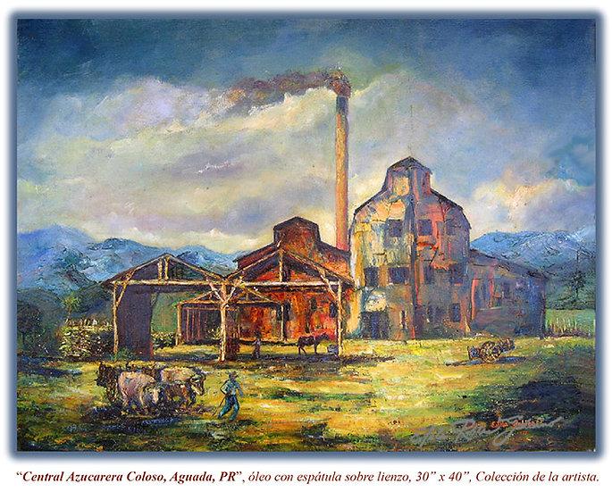 """Coloso Sugarcane Mill"" Original"
