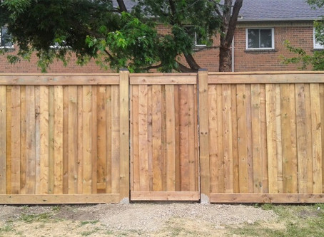 Neighbourly Fence Install