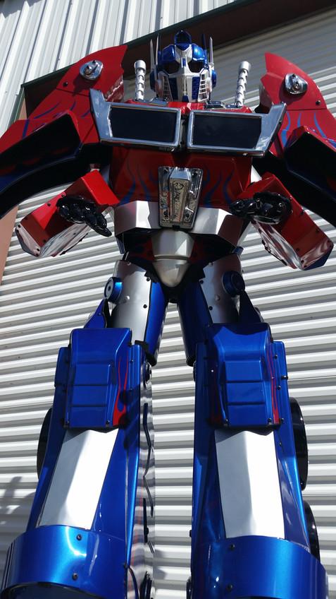 Optimus Prime Costume