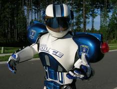 Police Robot Mascot
