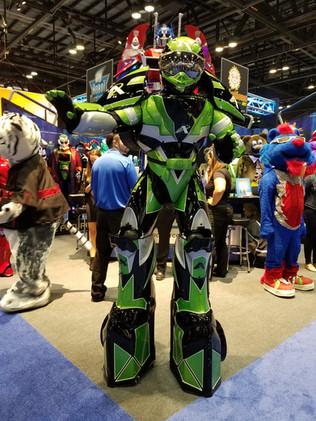 Mario Andretti Robot