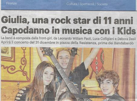 """""""La Repubblica"""" i vincitori di Youngrock in concerto con la Bandabardò"""