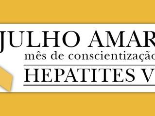 Um olhar mais aprofundado sobre as Hepatites Virais - Julho Amarelo