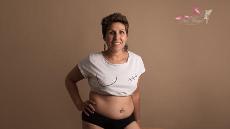Une séance thérapie avant ma mastectomie dans quelques jours !