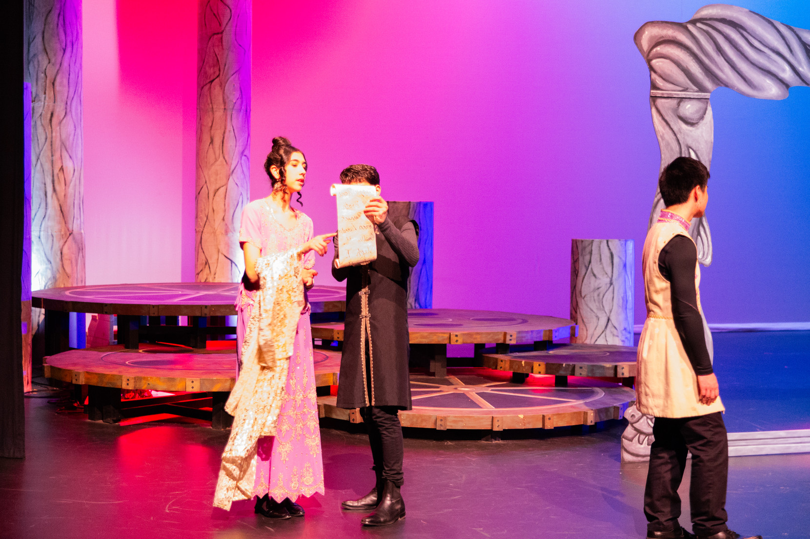 """Played Princess Zehra in the Langley Fine Arts School Production """"Ashgirl"""""""