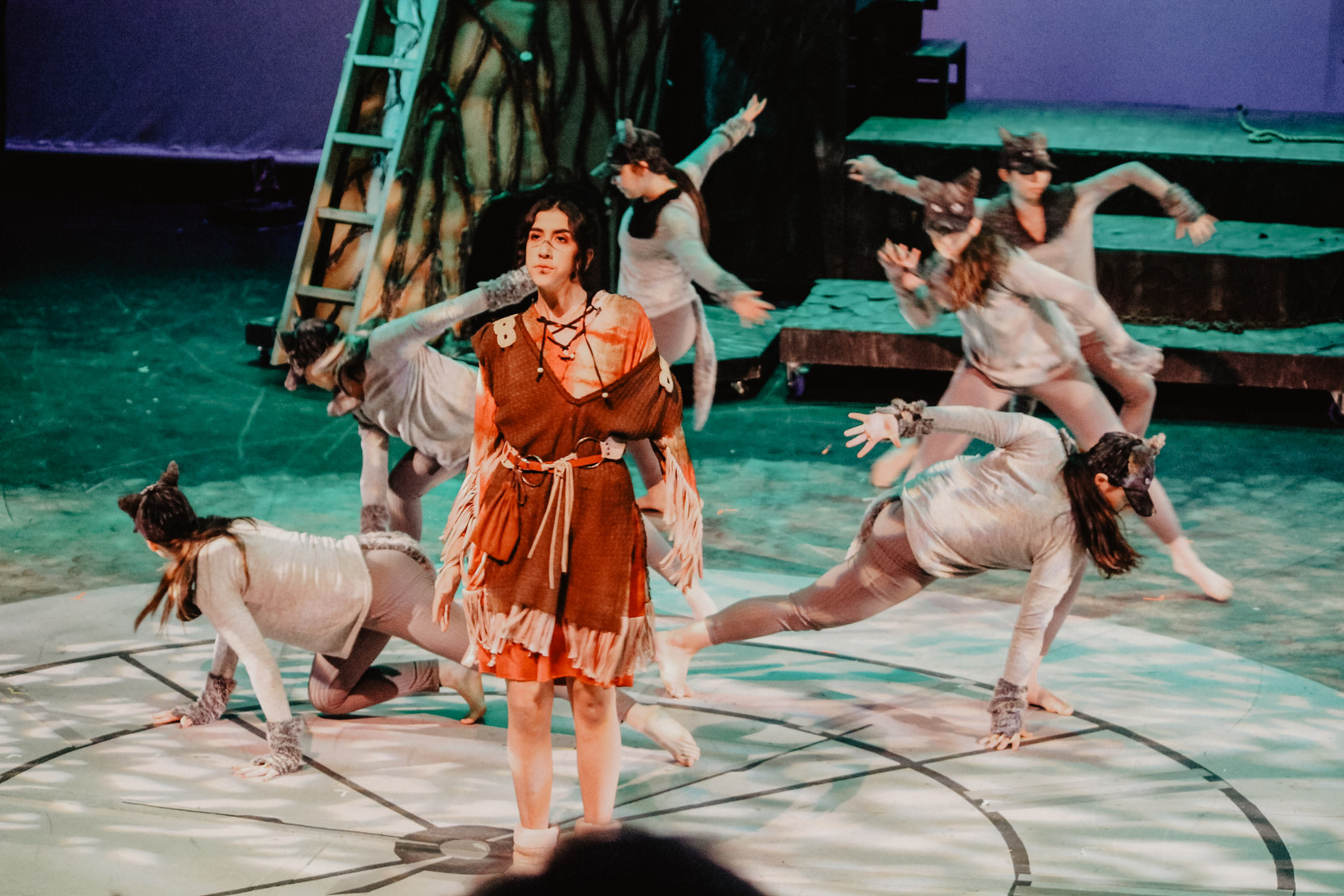 """Played Tiger Lily in the Langley Fine Art School production """"Peter Pan""""."""
