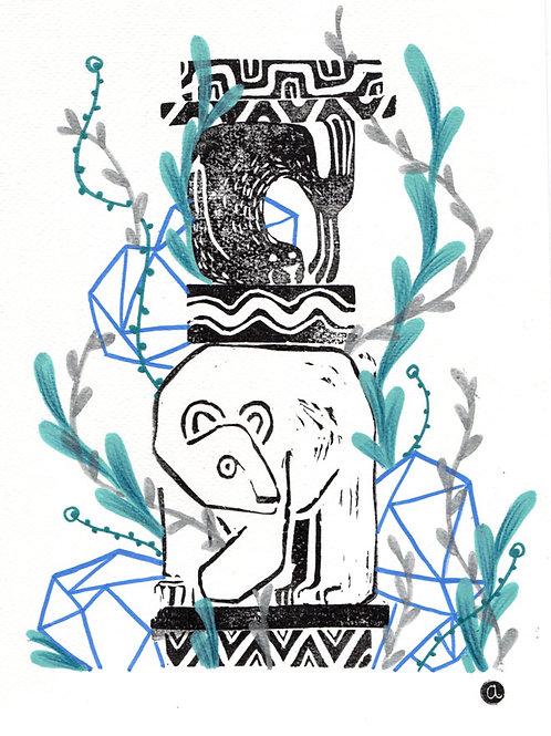 Animal Totem - Original 27
