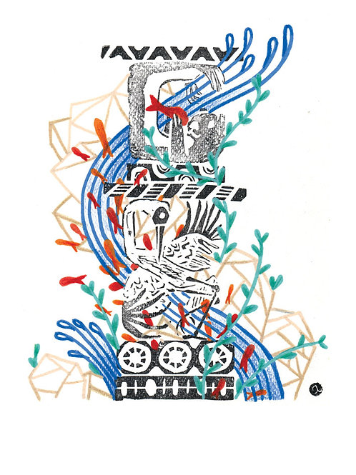 Animal Totem - Original 25