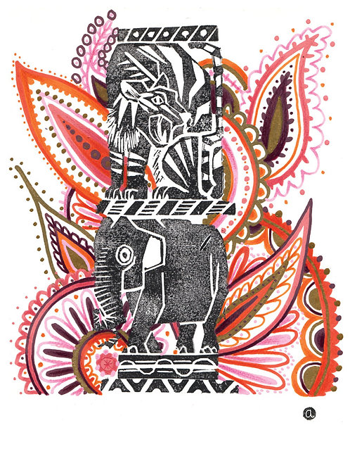 Animal Totem - Original 46