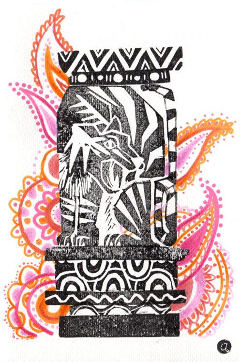 Animal Totem - Original 19