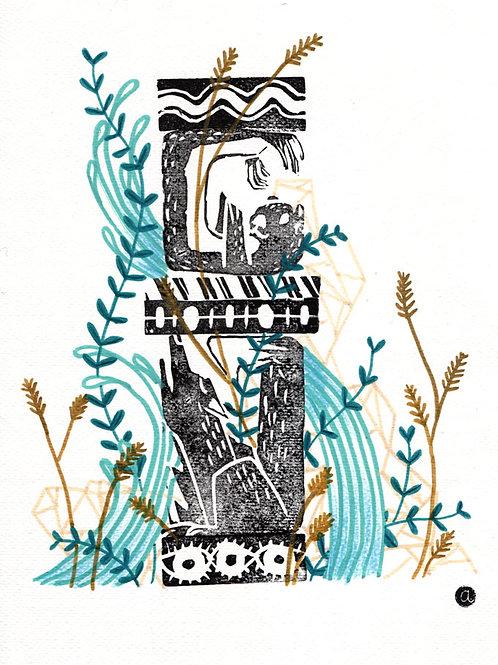 Animal Totem - Original 23