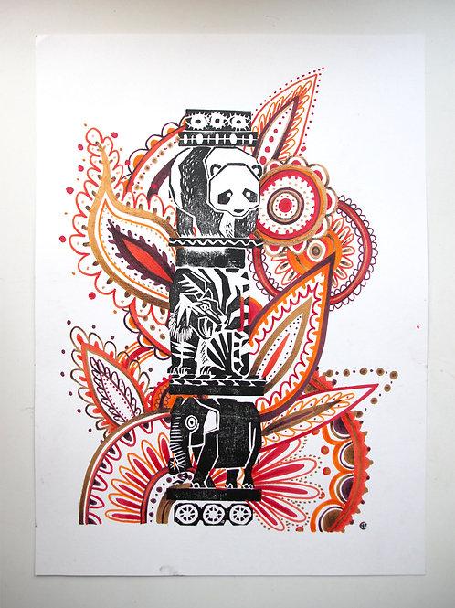Animal Totem - Original 54
