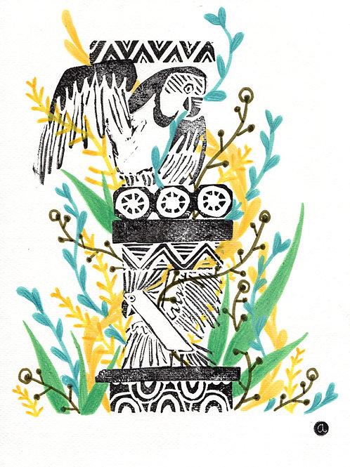 Animal Totem - Original 38