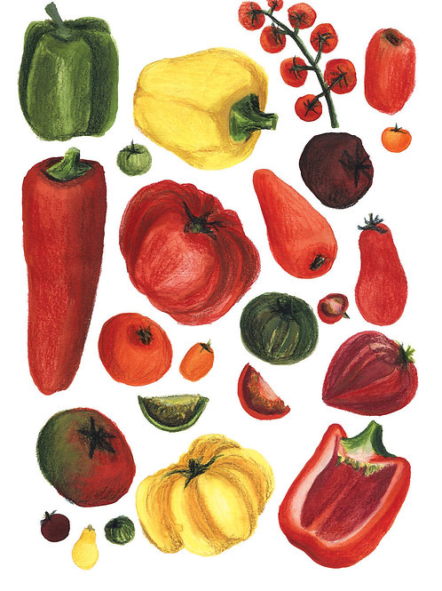 Fruits et légumes - Original 10
