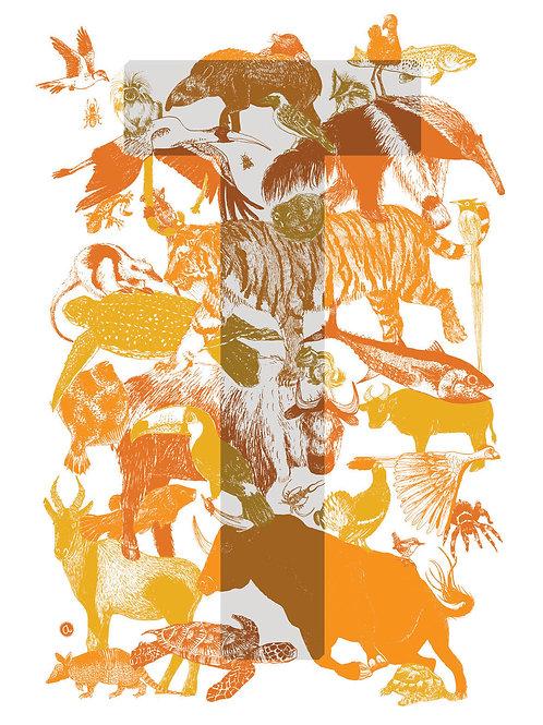Alpha-bêtes - Lettre T