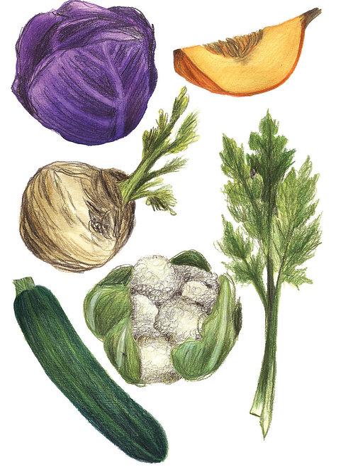 Fruits et légumes - Original 05