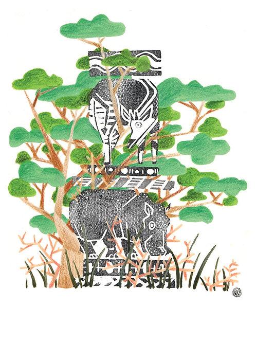 Animal Totem - Original 37