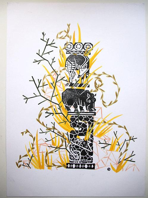 Animal Totem - Original 51