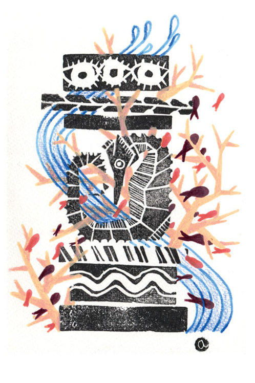 Animal Totem - Original 08