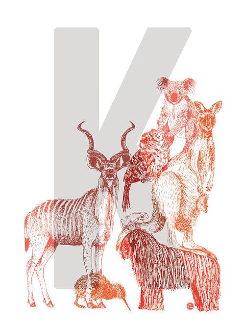 Alpha-bêtes - Lettre K