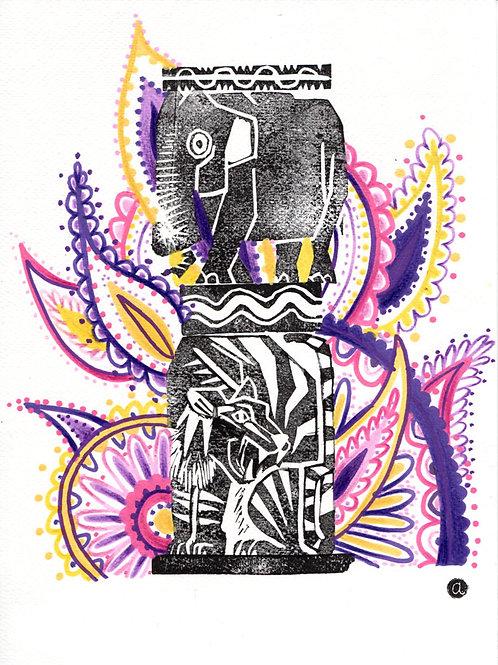 Animal Totem - Original 47